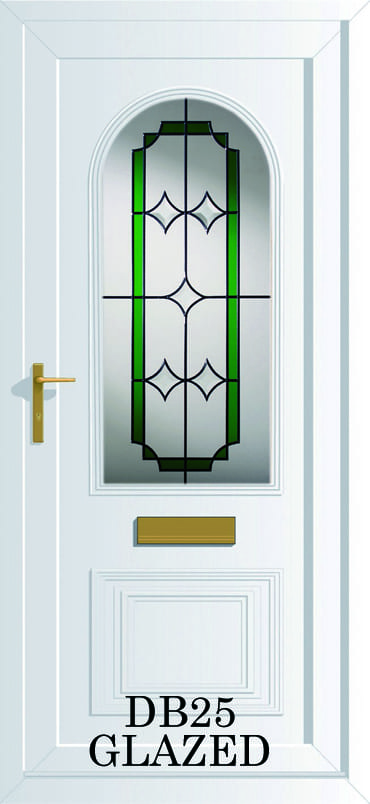 Devon DB25 Glazed upvc door