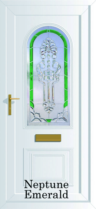 Devon Neptune Emerald upvc door