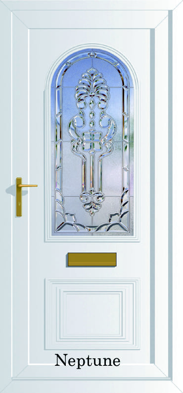 Devon Neptune glazed upvc door