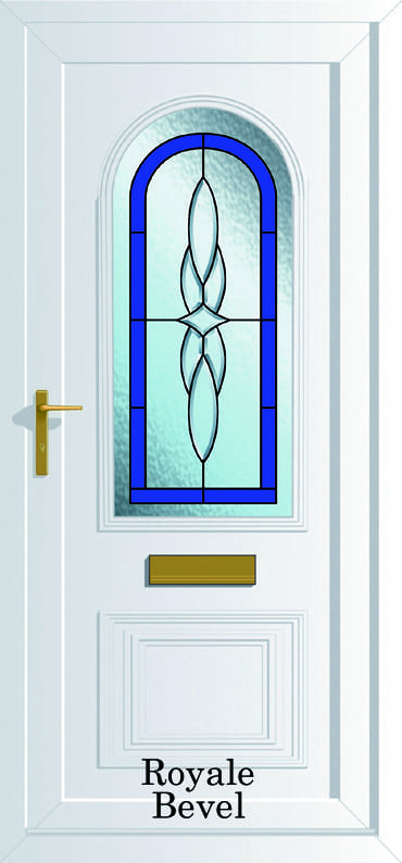 Devon Royale Bevel upvc door