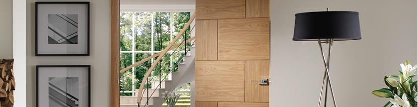 Flush Oak Doors