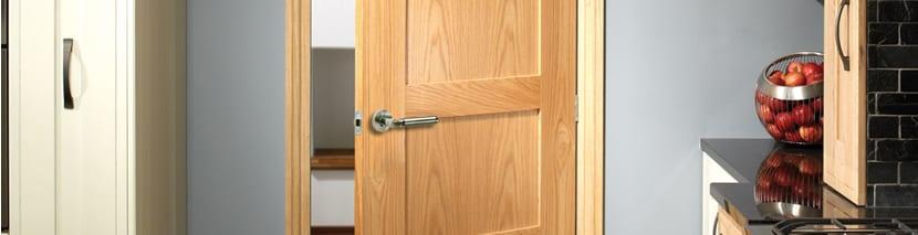 Un-finished Oak Panel Doors