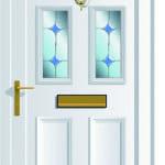 Edwardian 4 Bevel G upvc door
