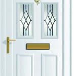 Edwardian 4 DB1 upvc door