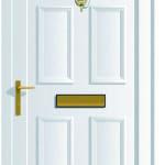 Edwardian Solid upvc door