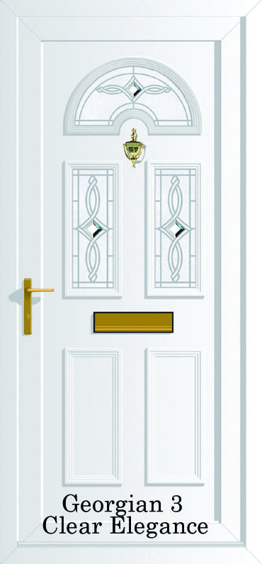Clear Elegance upvc door
