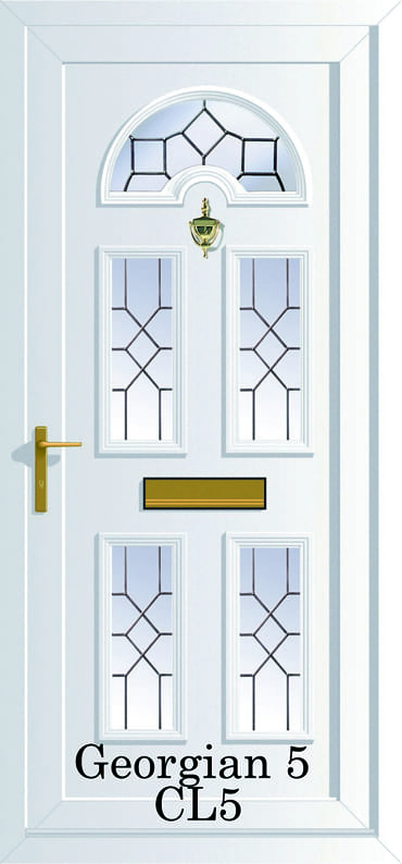 Georgian 5 CL5 upvc doors
