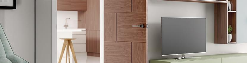 Walnut Panel Doors