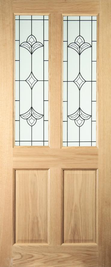 Jeldwen Woodhouse Exterior Oak Door