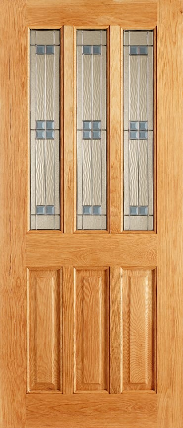 LPD Chateaux Regal Oak exterior door