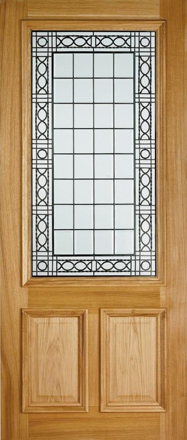 LPD Creedmore oak door