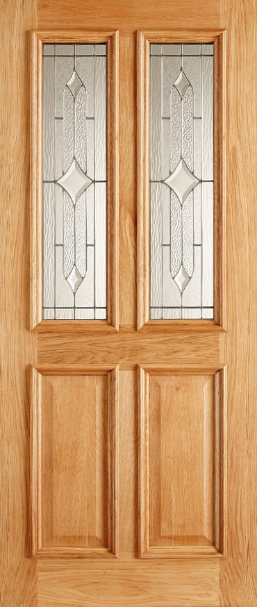 LPD Derby Zinc oak door