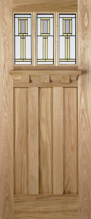 LPD Tuscany Florence oak door
