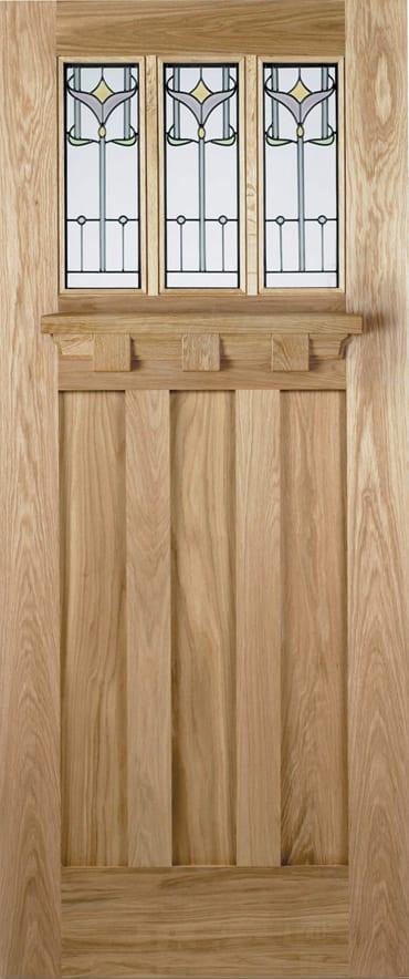 LPD Tuscany Tulip oak door