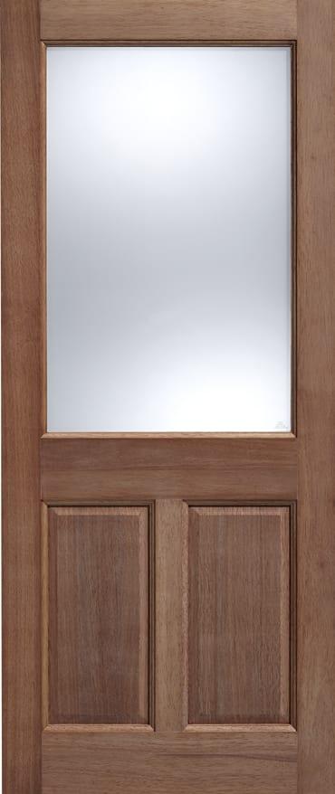 LPD adoorable Hardwood 2XG 2 Panel door