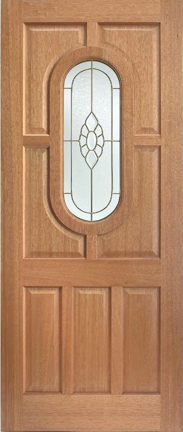 LPD adoorable Hardwood Acacia Bevelled Cluster door