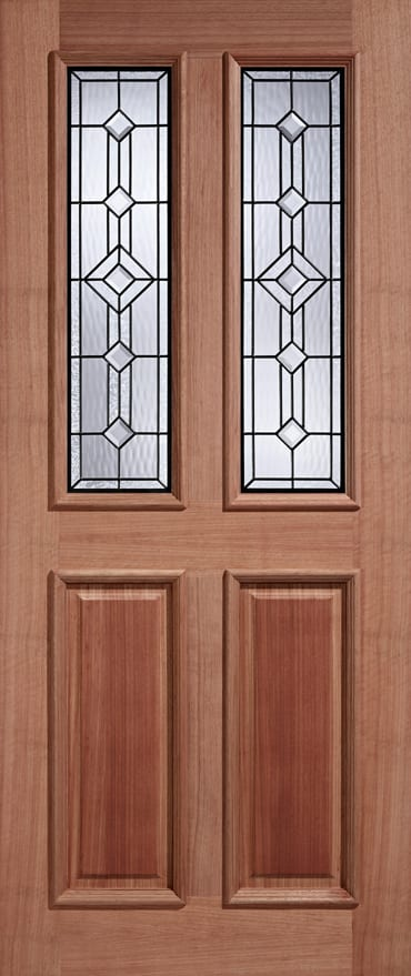LPD adoorable Hardwood Derby Leaded door
