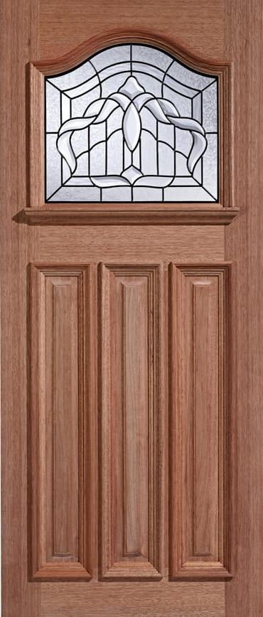LPD adoorable Hardwood Estate Crown door