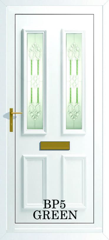 Monaco Upvc BP5 Green door