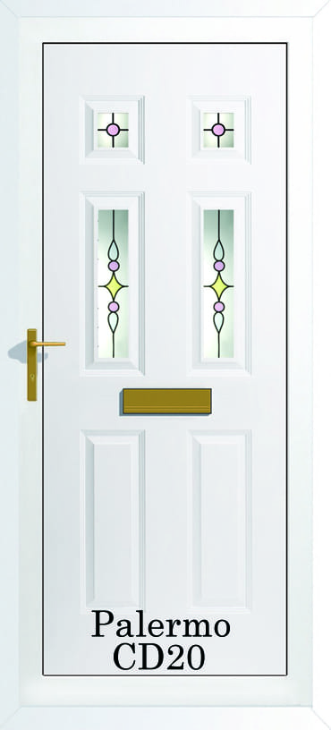 Palermo 4 CD20 upvc door
