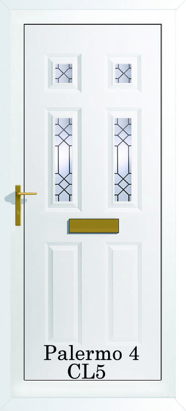 Palermo 4 CL5 upvc door