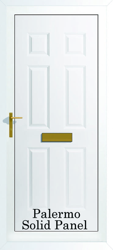 Palermo Solid panel upvc door