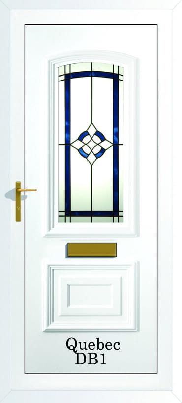 Quebec DB1 upvc door