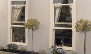 Upvc sliding sash windows in bespoke sizes