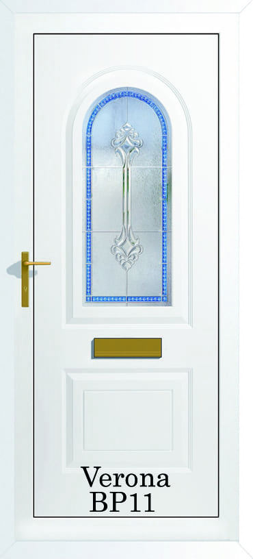 Verona BP11 Blue upvc door