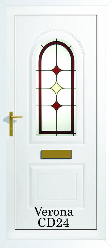Verona CD24 upvc door
