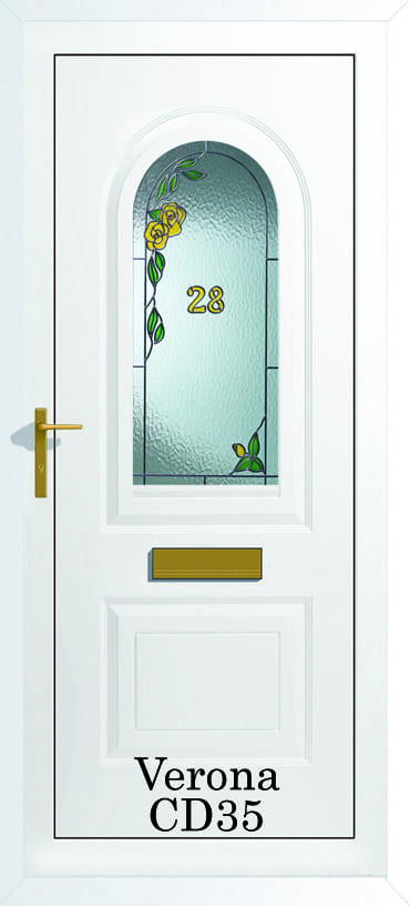 Verona CD35 upvc door