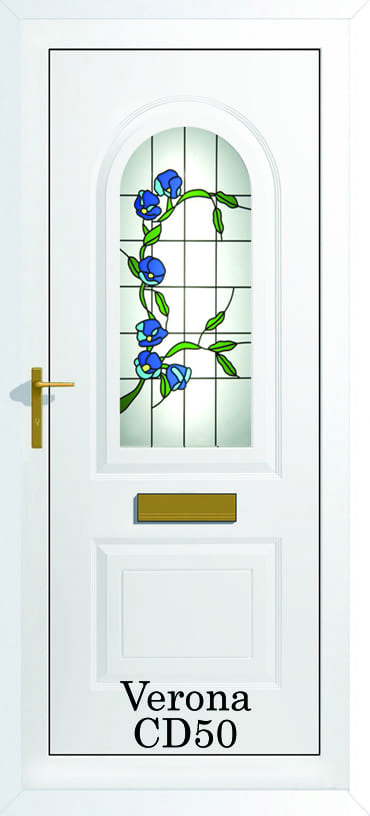 Verona CD50 upvc door