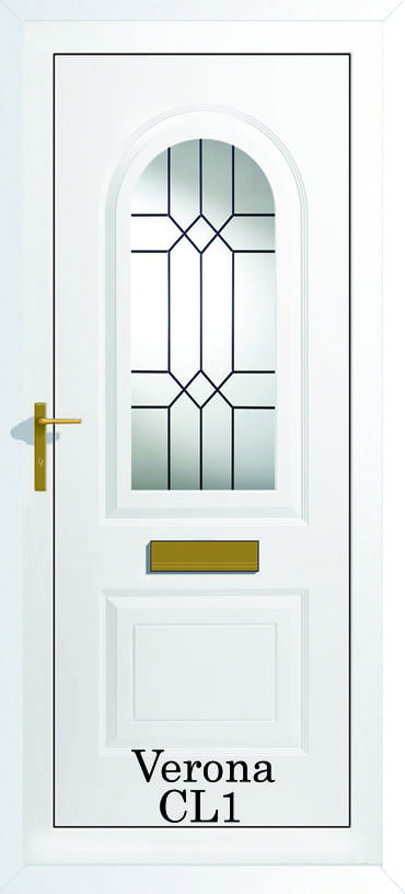 Verona CL1 upvc door
