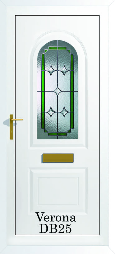 Verona DB25 upvc door