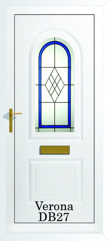 Verona DB27 upvc door