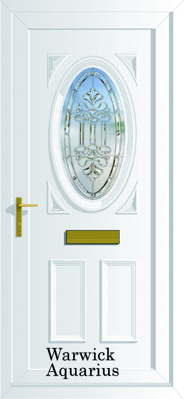 Warwick Aquarius upvc door