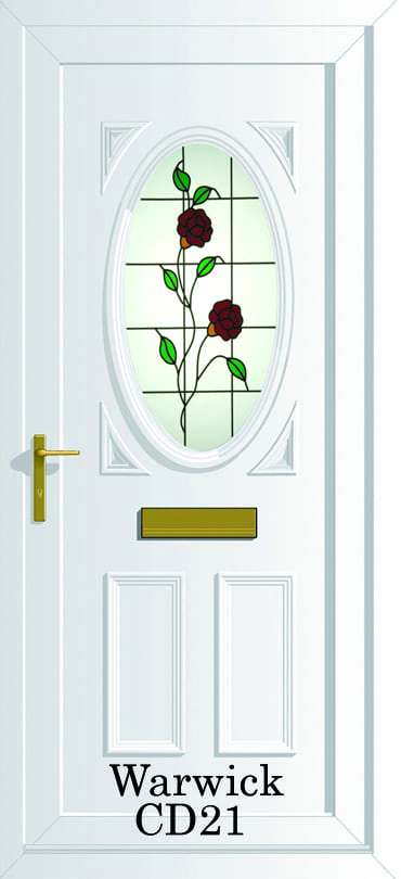 Warwick S1 CD21 upvc door