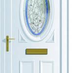 Warwick S1 Tiffany upvc door