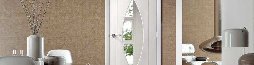 White Flush Doors