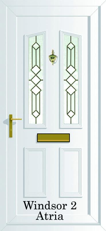 Windsor 2 Atria upvc door