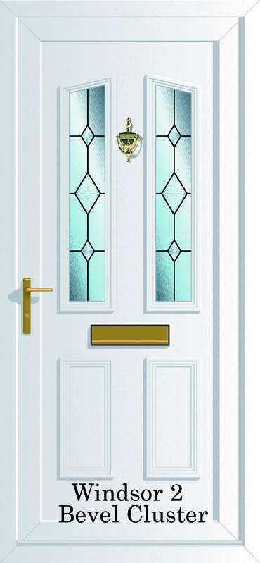 Windsor 2 Bevel cluster upvc door
