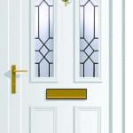 Windsor 2 CL5 glazed upvc door