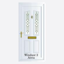 Windsor Upvc Entrance Door