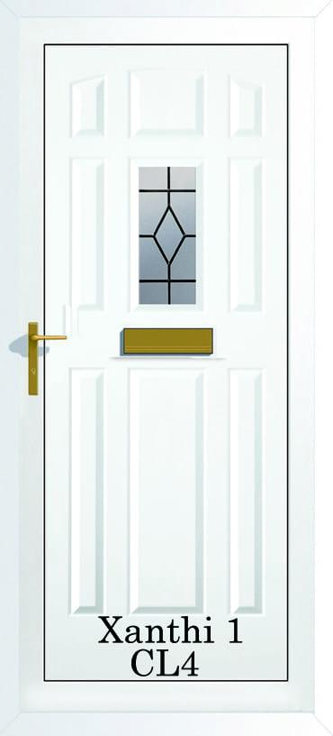 Xanthi 1 CL4 upvc door