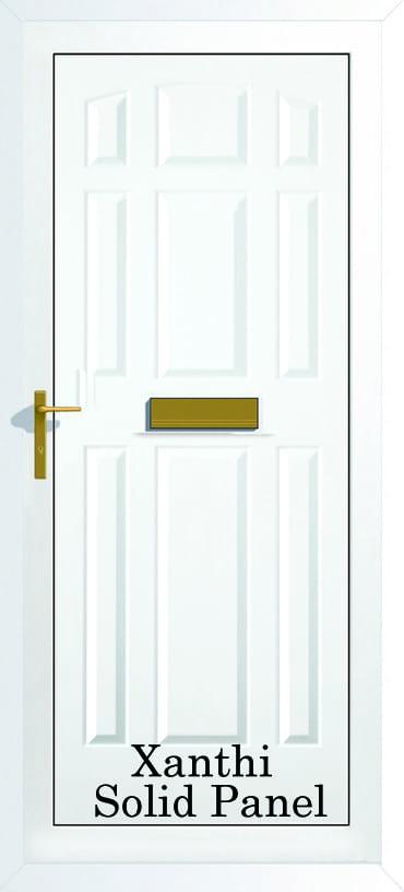 Xanthi Solid panel upvc door