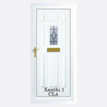 Xanthi Upvc Entrance Door