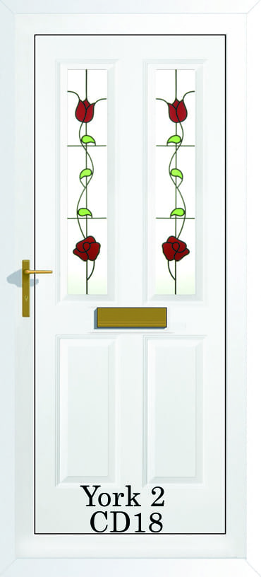 York 2 CD18 upvc door