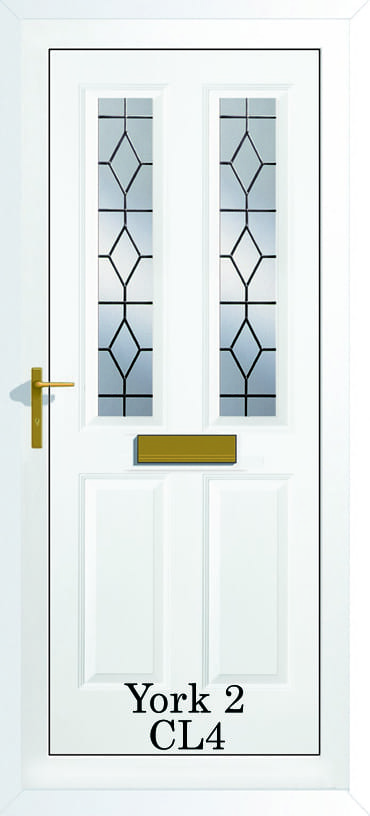 York 2 CL4 upvc door