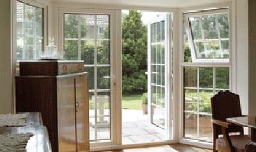 Upvc White French Doors With Georgian Bars Doors Windows
