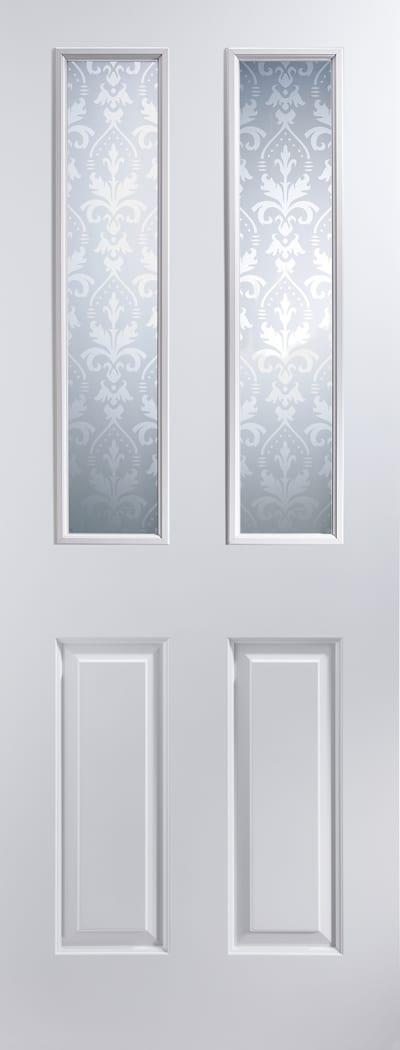 Atherton Flock glazed door